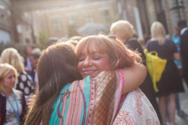 hugs at BritMums Live 2015