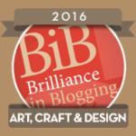 BiBs 2016 Art Craft & Design Badge