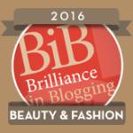BiBs 2016 Beauty Fashion Badge