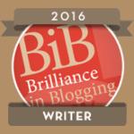 BiBs 2016 Writer Badge