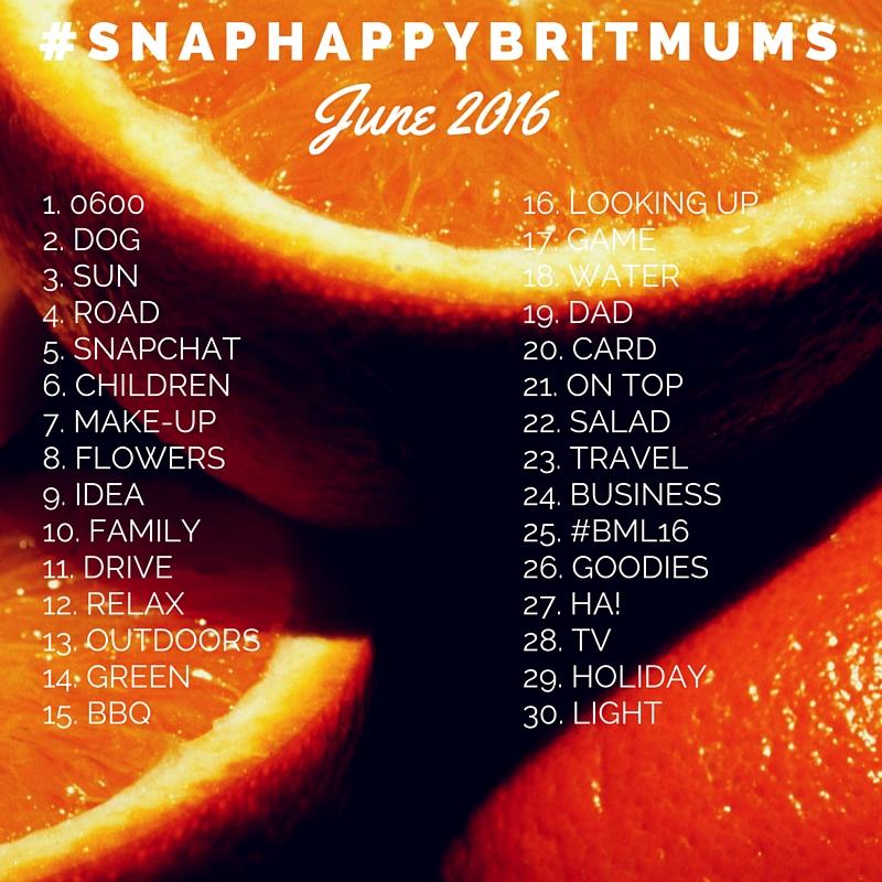 #SnapHappyBritMumsJUNE16