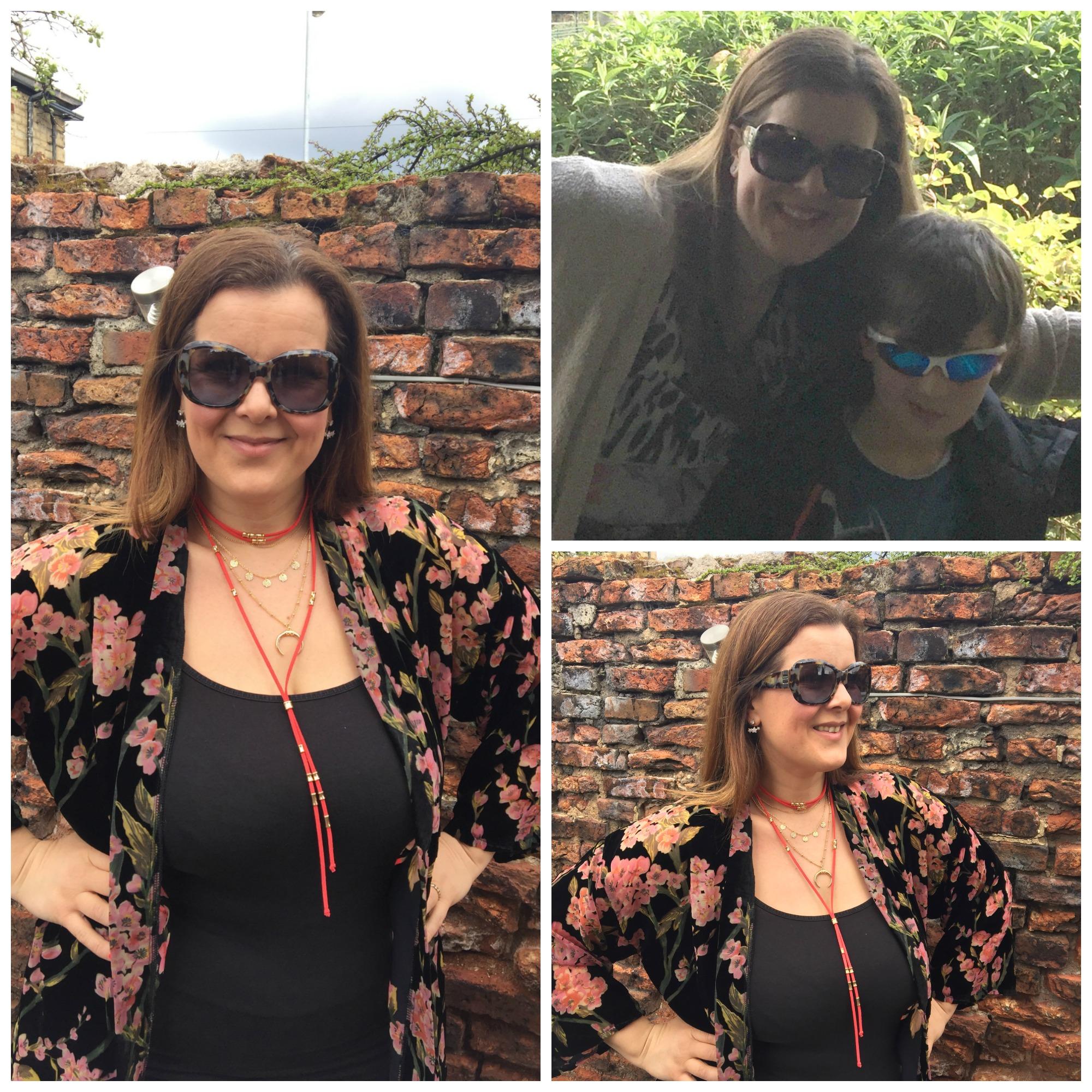 sunglasses collage