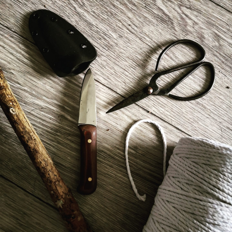 scissors & string