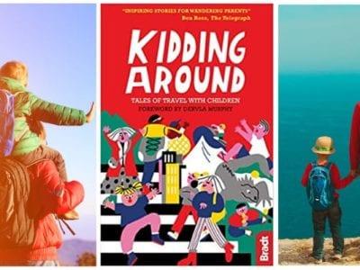Kidding Around book collage